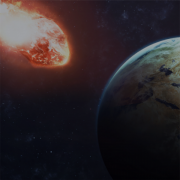 A giant meteor is heading towards earth! Armageddon is upon us!