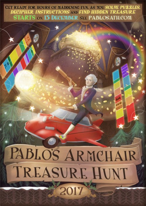 Pablo's Armchair Treasure Hunt