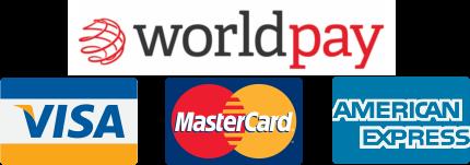 worldpay visa mastercard american express